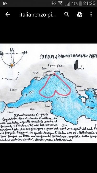 """Renzo Piano: """"Ragazzi, disegnate l'Italia come vi piace"""". Le immagini dei lettori / 5"""
