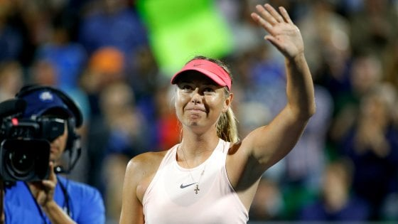 Tennis, Stanford: rientro vincente per la Sharapova. Errani avanti a Washington