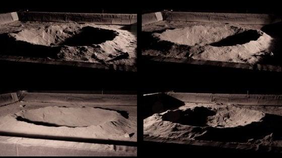 Come si vede sulla Luna? Il chiaroscuro barocco del nostro satellite