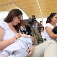 Solo 40% neonati al mondo allattati al seno per 6 mesi