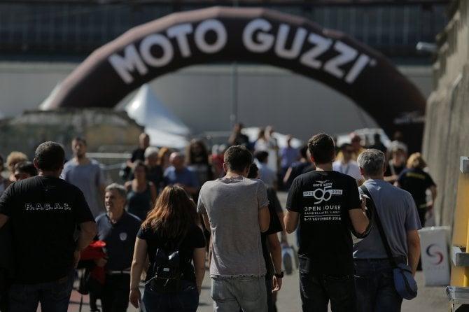 Moto Guzzi Open House che raduno