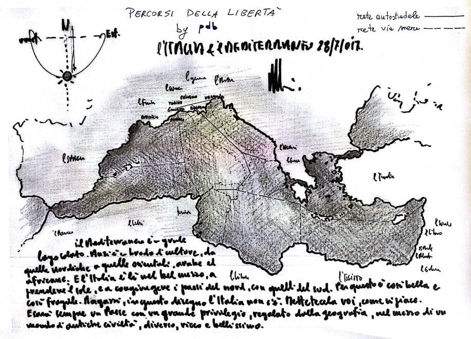 """Renzo Piano: """"Ragazzi, disegnate l'Italia come vi piace"""". Le immagini dei lettori / 6"""
