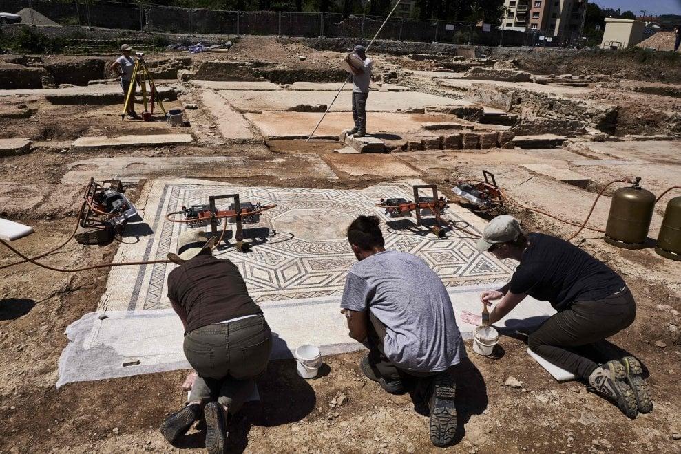 Francia. La mini-Pompei scoperta a sud di Lione
