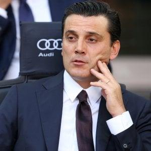"""Milan, Montella: """"Capitano? Mi sono preso tempo per decidere. San Siro pieno è una responsabilità"""""""