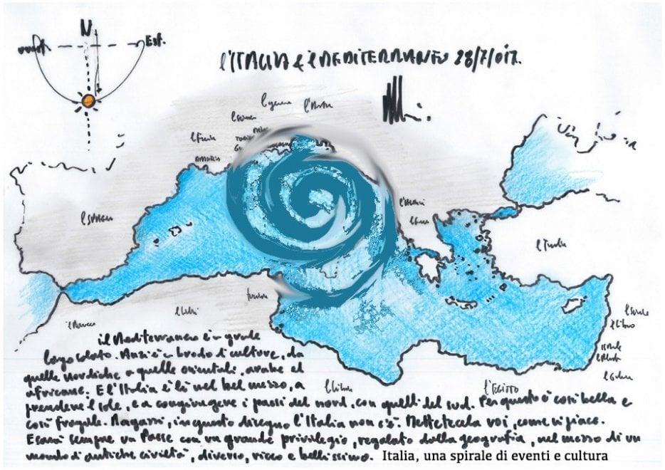 """Renzo Piano: """"Ragazzi, disegnate l'Italia come vi piace"""". Le immagini dei lettori / 7"""