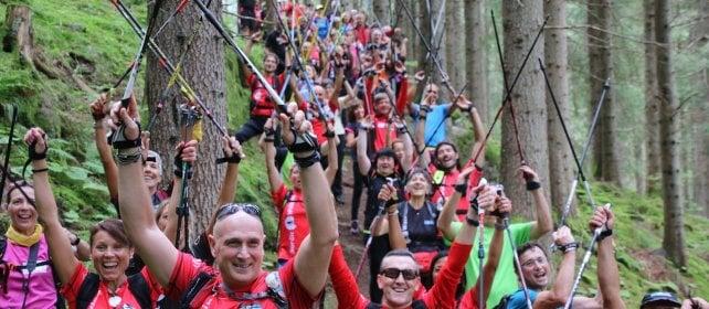 Nordic walking, i benefici per  la riabilitazione dopo un tumore