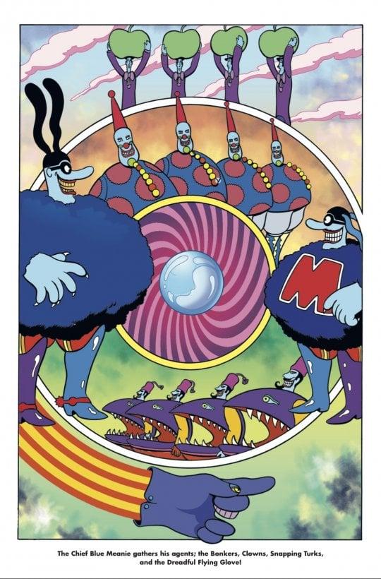 Beatles, 'Yellow Submarine', dopo il film un nuovo fumetto per festeggiare i 50 anni