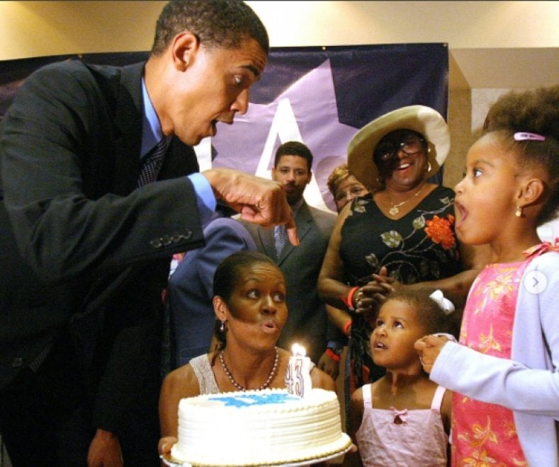 """Happy birthday Barack Obama"". Gli auguri di Michelle sui social"