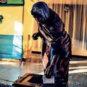 "Diana Rwigara: ""Voto falso, vince la paura"""