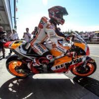 MotoGp, Marquez in pole a Brno. Rossi secondo, quarto Dovizioso