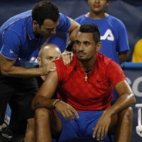 Tennis, Kyrgios: ''La mia ragazza mi ha lasciato e non riesco più a giocare''
