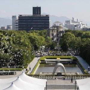 """Hiroshima, 72 anni dopo: anche gli ultimi """"hibakuska"""" alla commemorazione"""