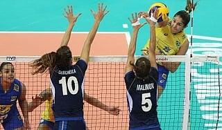 Volley, WGP; l'Italia si arrende al Brasile: 3-2 in finale e argento