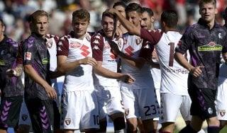 Torino, Iago Falque e Belotti ribaltano il Friburgo: 2-1