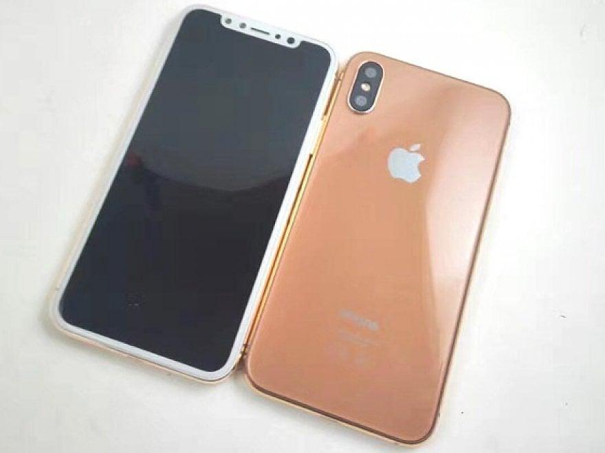 iPhone 8, ancora indiscrezioni: color rame, Face ID e (forse) Touch sul retro