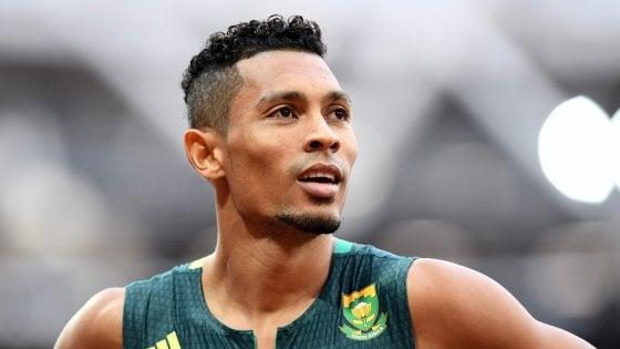 Atletica, Mondiali: Van Niekerk domina i 400 metri, giallo Makwala
