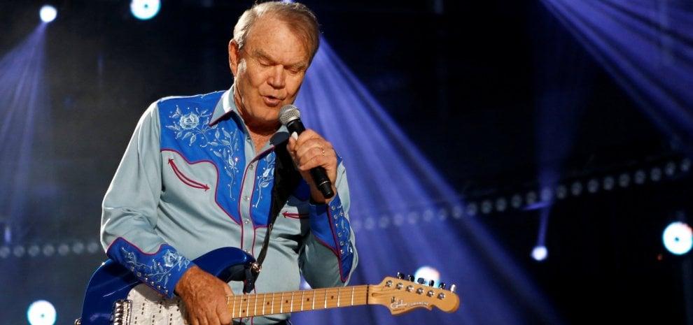 Addio a Glen Campbell, una delle voci country più amate degli Usa