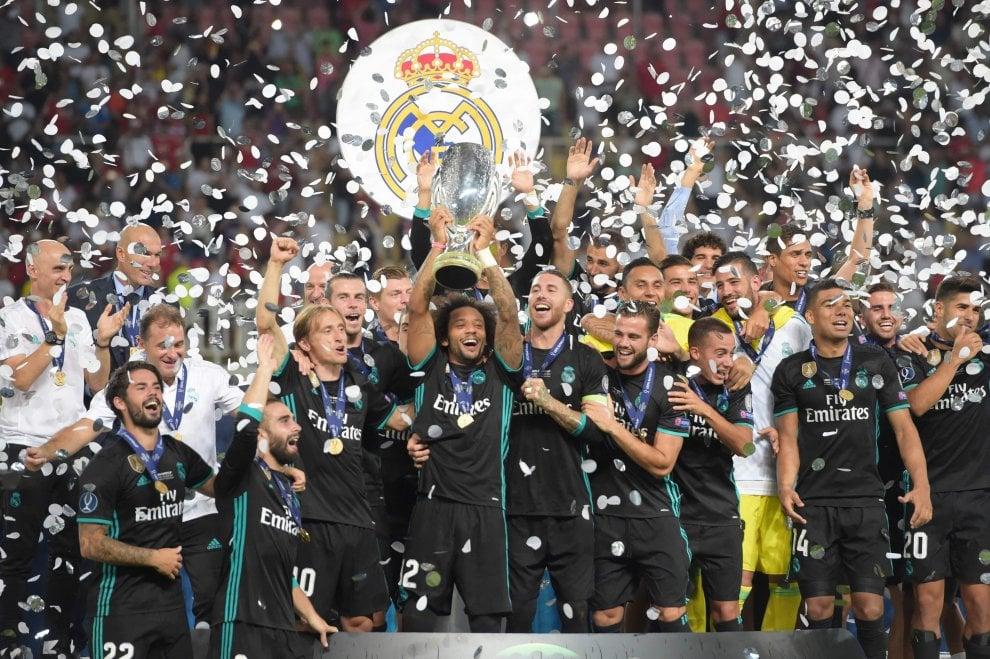 Supercoppa Europea, trionfo Real Madrid: a Skopje fa festa Zidane