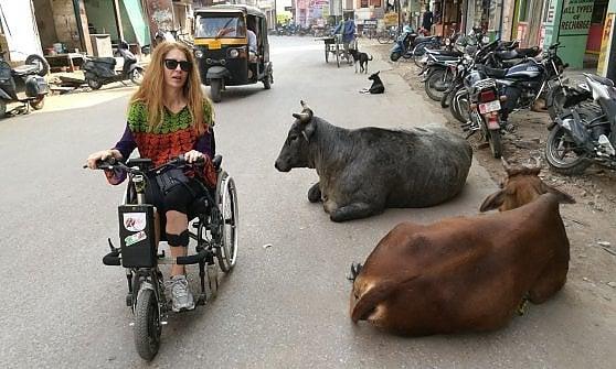 """Simona: """"La mia conquista dell'Himalaya, su una sedia a rotelle"""""""