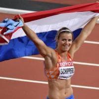 Atletica, Mondiali: Schippers regina nei 200 metri, quarto titolo iridato nel lungo per Reese