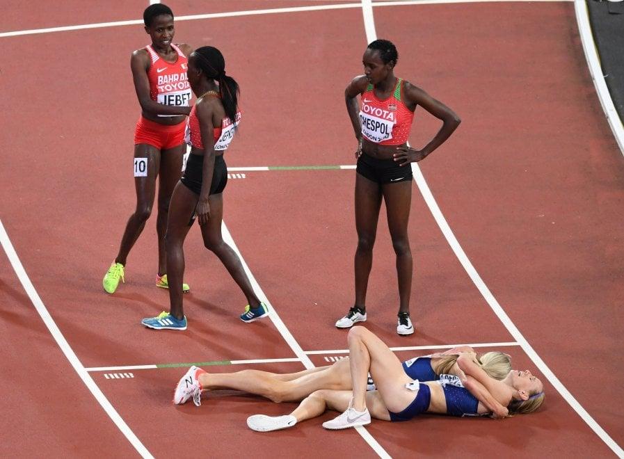 Sorpresa nei 3000 siepi, atlete Usa battono le favorite keniane