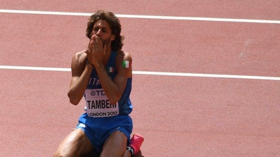 """Atletica, Tamberi dopo la delusione di Londra: """"Speravo in un miracolo, tornerò a lottare"""""""