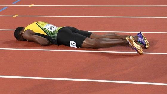 Atletica, Mondiali: la caduta degli dei. Bolt si infortuna e Farah perde dopo 6 anni
