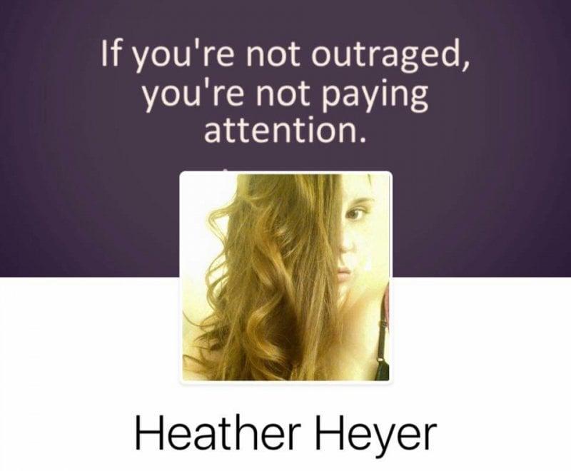 """Charlottesville, il post della vittima Heather: """"Se non vi indignate, non siete attenti"""""""