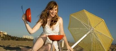 La dieta dell'ombrellone,  come perdere peso in spiaggia