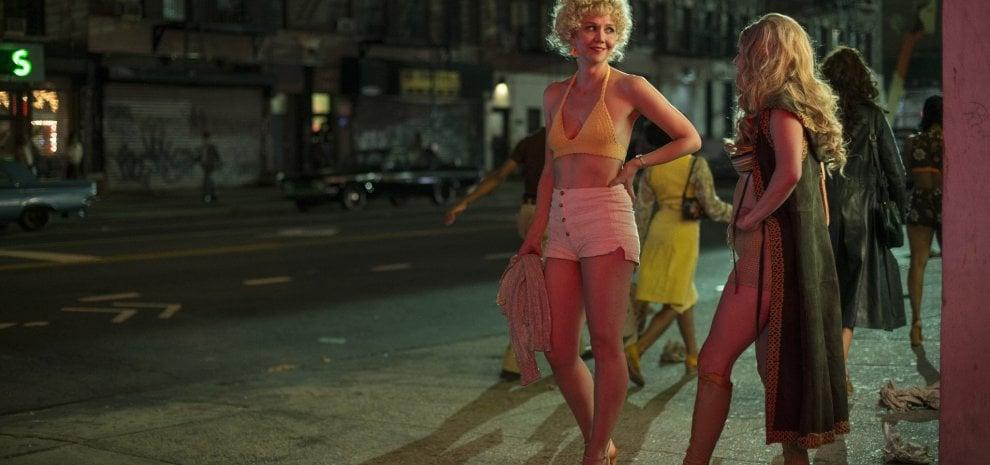 Nero lesbiche in yoga pantaloni