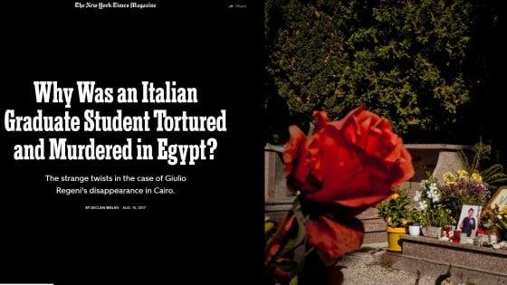 """Regeni, il NYT: """"Ucciso dai servizi egiziani. L'Italia ebbe le prove dagli Usa"""". Palazzo Chigi smentisce"""