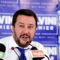 Salvini al raduno della Lega: