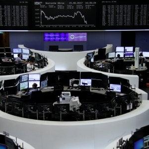 I dati sulla crescita spingono le Borse. Continua la corsa di Fca