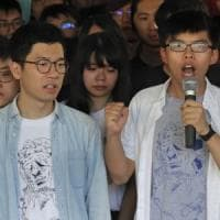 Hong Kong contro leader della rivolta degli ombrelli: carcere e niente candidature per 5...