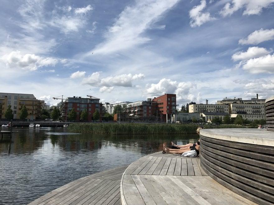 Hammarby Sjöstad, il quartiere autosufficiente di Stoccolma