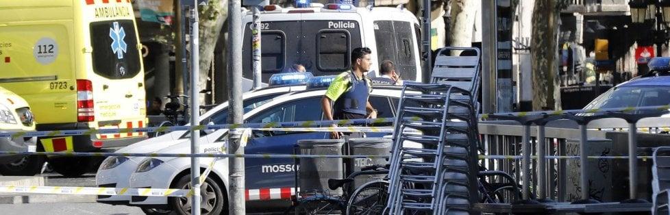 Attentato sulla Rambla a Barcellona e a Cambrils
