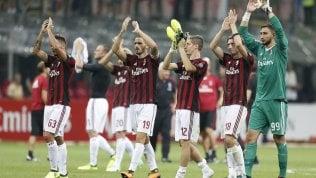 Passeggiata per il Milan:6-0 allo Shkendija ·  pagelle · foto