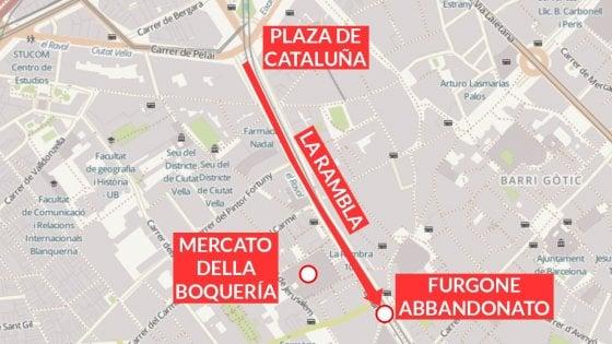 Attentati a Barcellona e Cambrils: quello che sappiamo finora