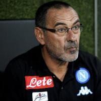 Napoli, a Verona ma con la testa a Nizza: Sarri pensa al turnover per la prima di campionato