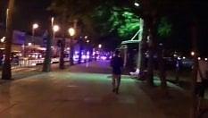 Cambrils: spari in strada