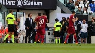 Juve-Cagliari, il momento in cui viene usata la Var