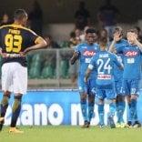 Il Napoli parte col piede giusto Verona battuto 3-1   pagelle