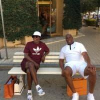 Magic Johnson e Samuel L. Jackson