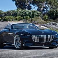Mercedes Vision Maybach 6 Cabriolet Concept
