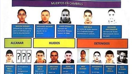 Terroristi e fratelli, chi sono i jihadisti della strage di Barcellona