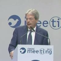 Gentiloni al meeting Cl:
