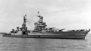 Ritrovato il relitto della nave che trasportò prima atomica foto
