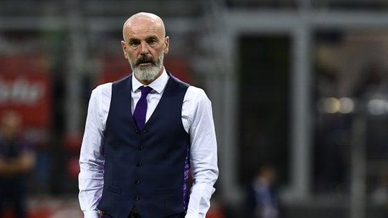 Fiorentina, Pioli: ''Il Var? Tagliavento avrebbe dovuto controllare di persona l'episodio Miranda-Simeone''
