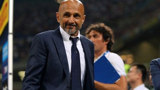 """Inter, Spalletti: ''Sono molto soddisfatto. Io fuoriclasse? Non faccio gol..."""""""