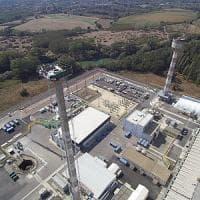 Centrale nucleare Garigliano, via ciminiera alta 100 metri